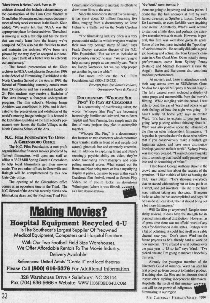 Go West Movie Premiere 3 - Wilmington, NC 1999