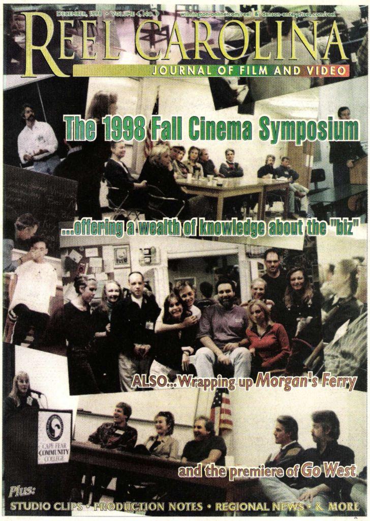 Gavin P. Smith Journalism Writing Samples - Reel Carolina Journal of Film - 1999 Fall Cinema Symposium - Wilmington, NC