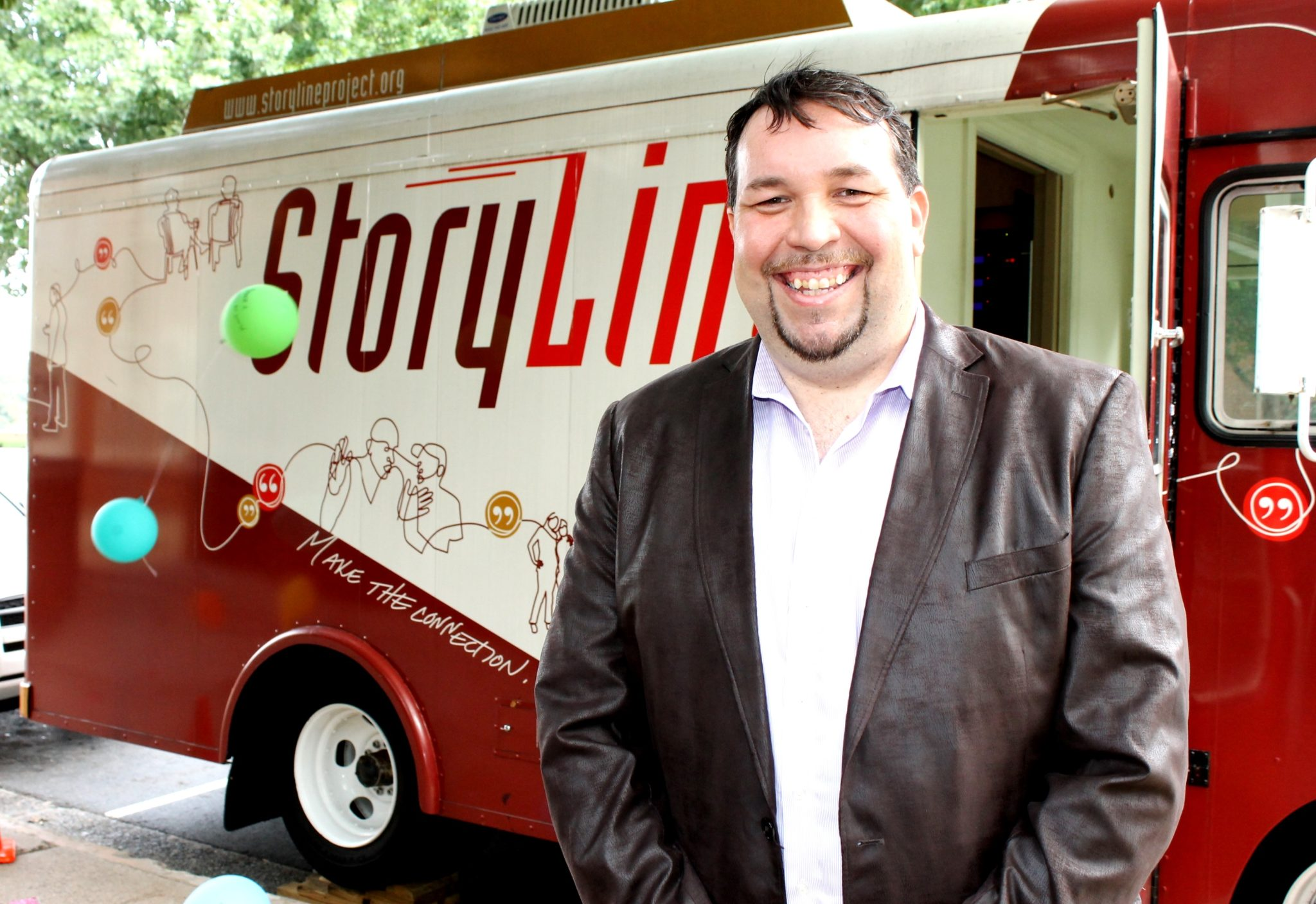 Gavin P Smith - Storyline Bus Project - Interview - Wake Forest University