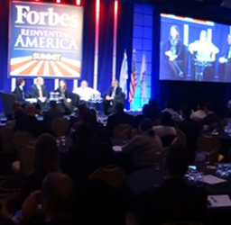 Forbes Reinventing America Summit - Gavin P Smith - Panoramic