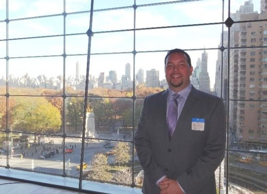 Gavin P Smith of Gavin Consulting at Time Warner Center