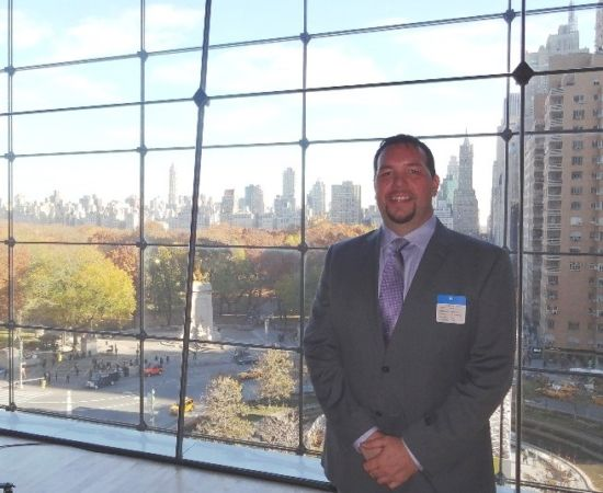 Gavin P Smith of Gavin Consulting at Time Warner Center