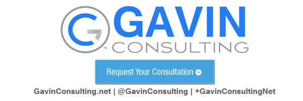 Gavin P Smith's company is Gavin Group, LLC (dba Gavin Consulting)