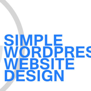 Gavin Consulting - Simple WordPress Website Design