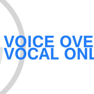 Gavin Consulting - Voice Over Vocal Only